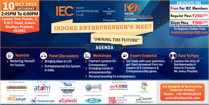 Indore Entrepreneur's Meet